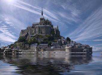 Search image mont saint michel
