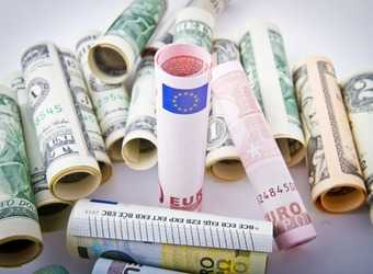 Search image dollars en euro s