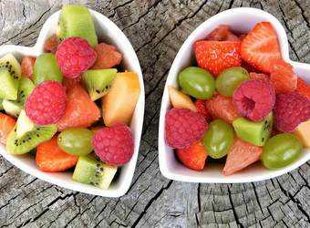 Search image fruit in schaal